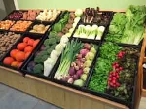 Hofladen + Werkstatt: Gemüse